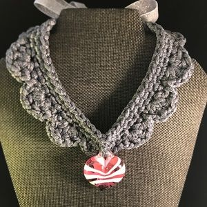 Jewelry - Murano Heart Chocker
